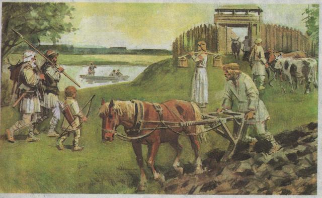Передвижения славян в связи с распадом гос-ва гуннов