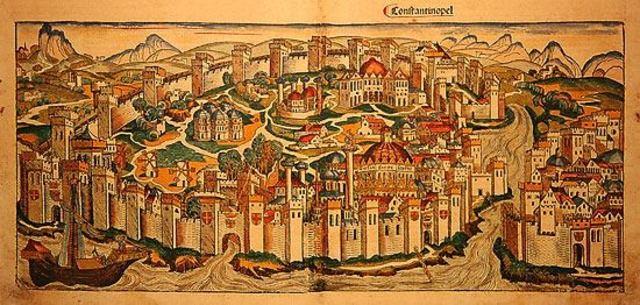 Перенос центра Римской империи в Византий