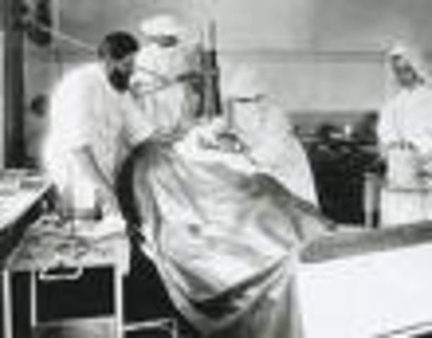 First Human to Human Blood Transfusion