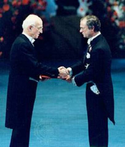 Joseph Murray Awaded Nobel Prize