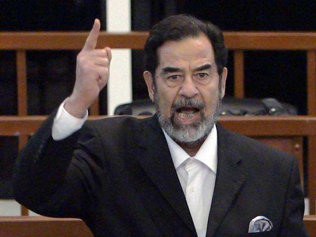 Saddam é capturado