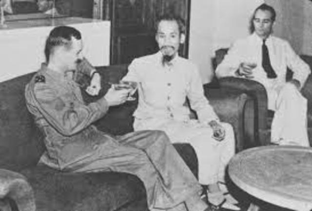 Ho Chi Minh Asks the US for Support