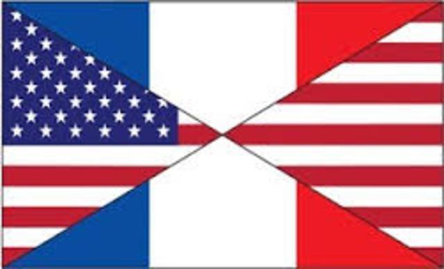 US Supporst French Vietnam