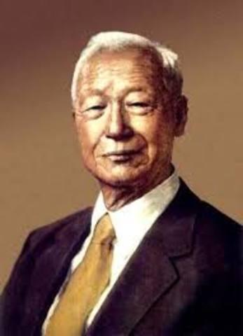 Syngman Rhee Elected