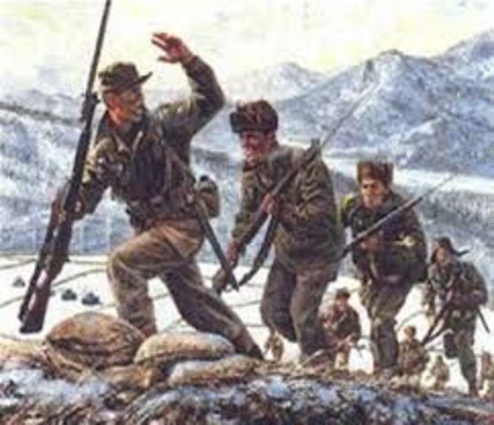 Battle at Osan