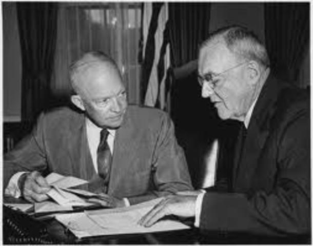 Eisenhower Debates Intervention