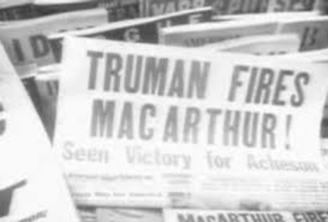 Truman to Fire MacArthur