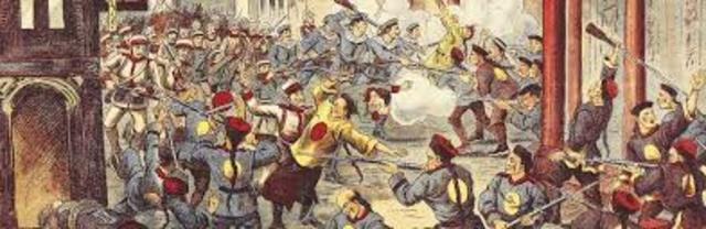 Boxer Rebellion Begins