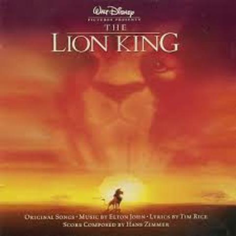 The Lion King premiere