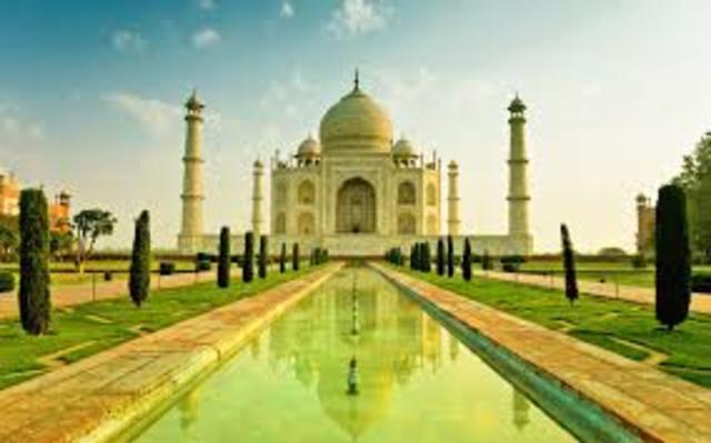 Taj Mahal Finished in India