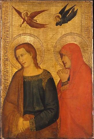 Saints John the Evangelist and Mary Magdalene