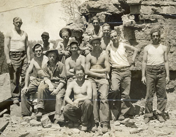The Civilian Conservation Corps.