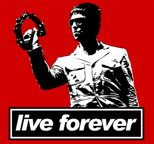 Live forever-Oasis