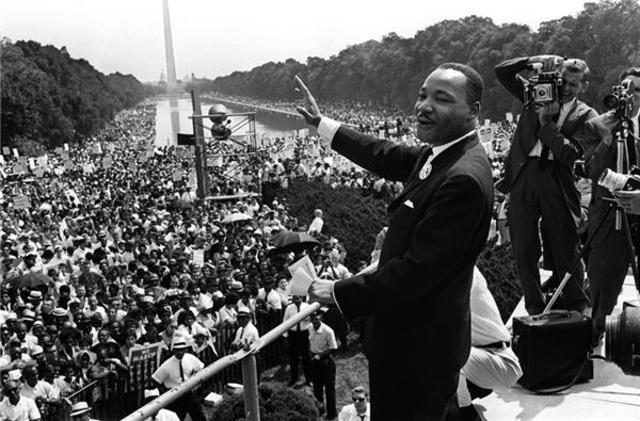 Marcha sobre washington sobre el trabajo y la libertad (Martin Luther King9