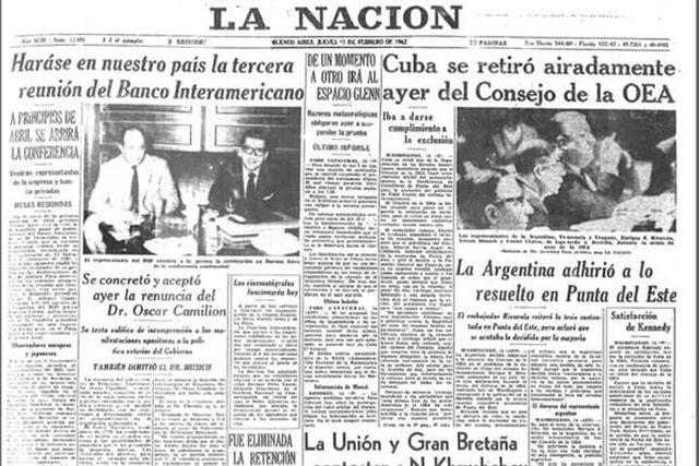 Explusión de Cuba de la OEA