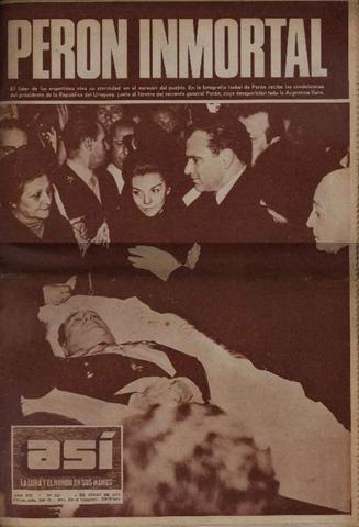 Muere Perón