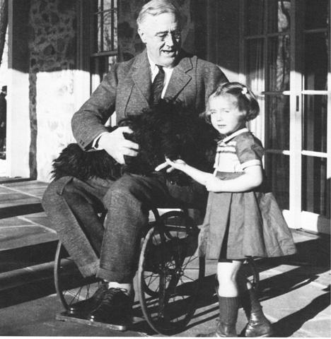 Franklin Roosevelt dies.
