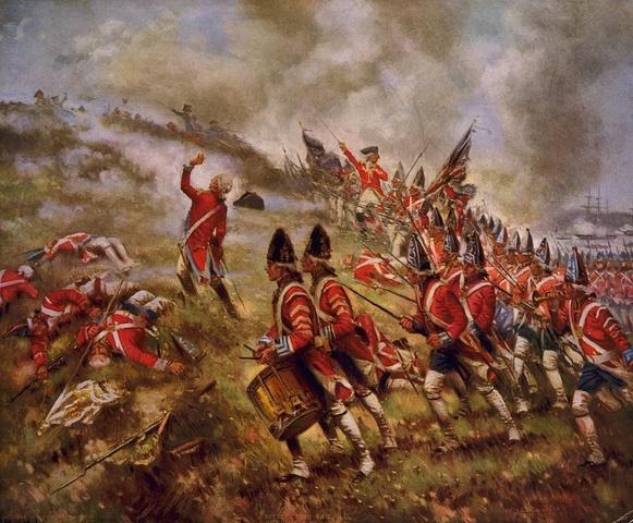British retreat