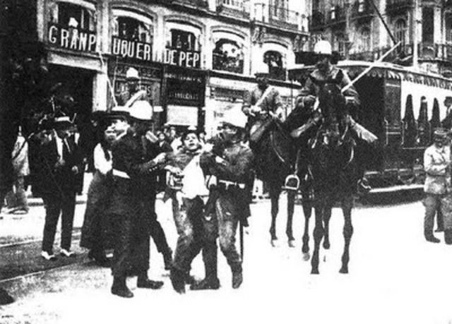 Vaga general a Barcelona (Sergi Tarruella)