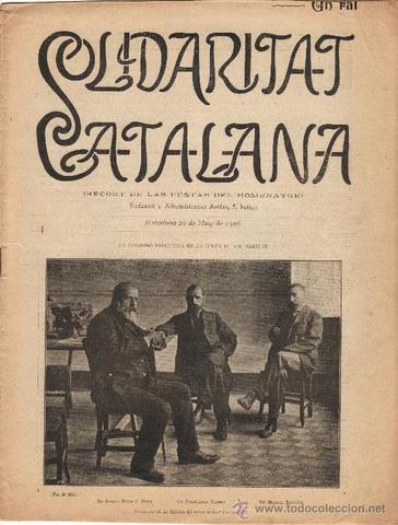 Solidaritat catalana (Ignaci Pedrol