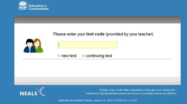 EMSAD Online Testing