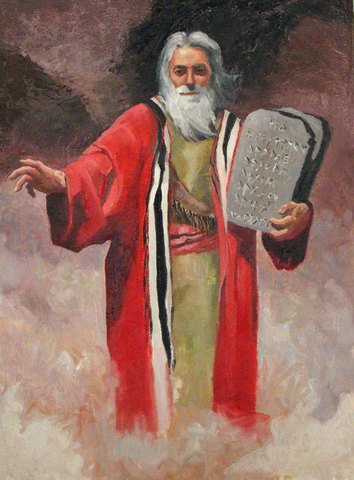 Moses Leads Them Out Of Egypt
