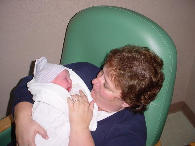 2001 - My grandma held me