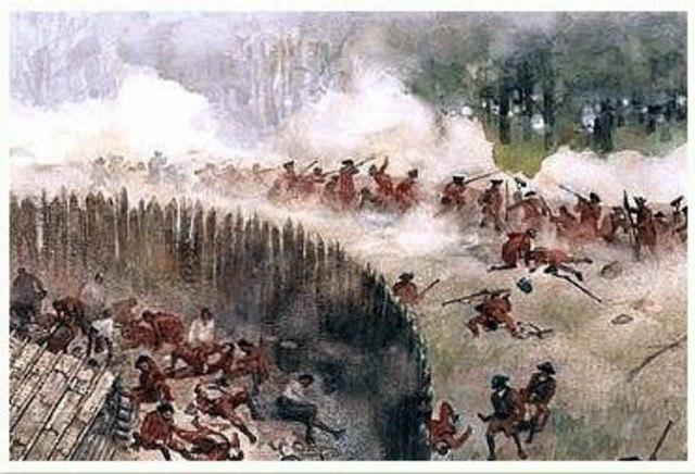 Washington's Defeat at Fort Duquense/Fort Necessity
