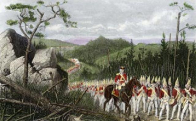 1.Washington's Defeat at Ft. Duquense/Ft. Necessity