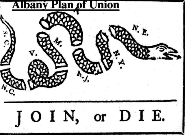 1. Albany Plan of Union