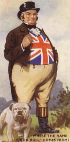 Появился образ, олицетворяющий Великобританию