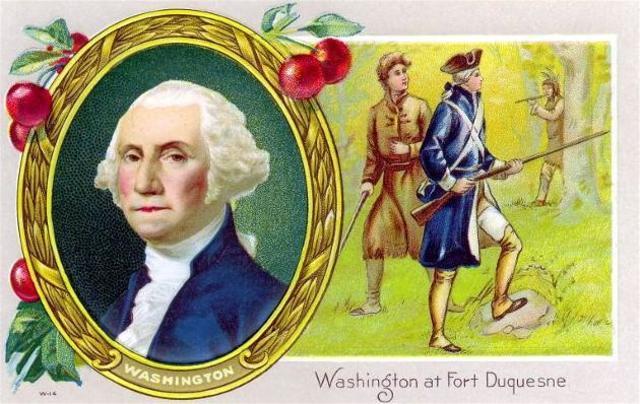 Washington's Defeat at Ft, Duquense/Ft. Neccessity