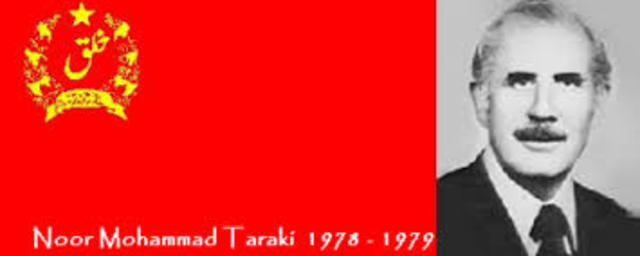 Soviet Union supported Afghan Communist leader takes power