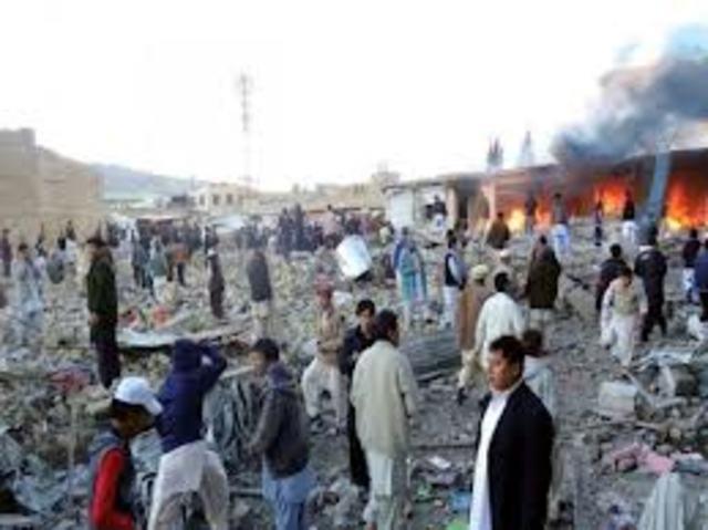 Taliban have a massacre of the Hazaras in Mazar-i-sharif