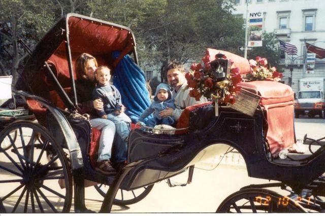 My first Carriage Ride