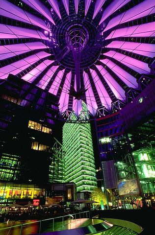 The Sony Center opened