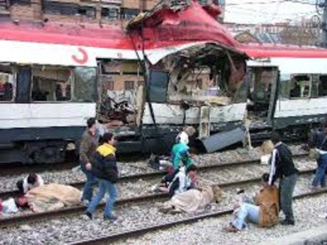 11 M; ATENTADO TERRORISTA TRENES EN MADRID
