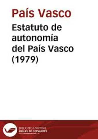 ESTATUTO DE AUTONOMIA DEL PAIS VASCO