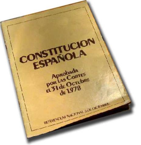 EN VIGOR LA  CONSTITUCIÓN ESPAÑOLA