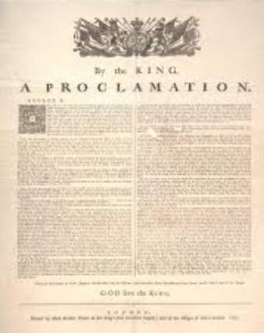 2. Proclamation of 1763
