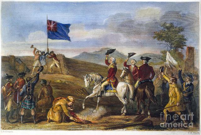 Washingtons defeat at FT.Duquences