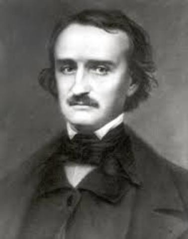 1845 Poe publishes the poem, The Raven.