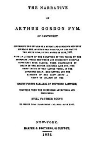 "Poe Publishes ""THe Narrative Of Author Gordon Pym Of Nantucket"""