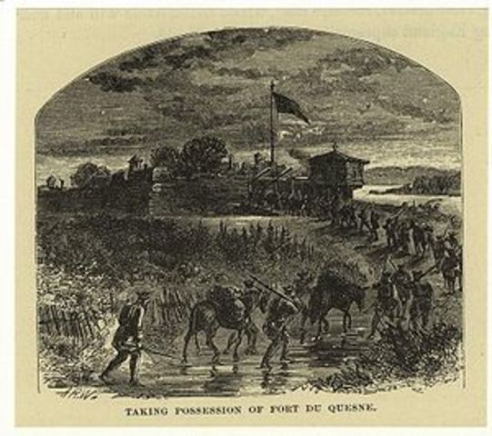 Washingtons defeat at Ft. Duquesne