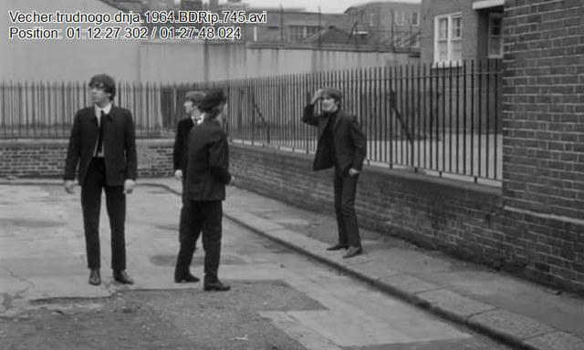 Первый фильм с участием Beatles