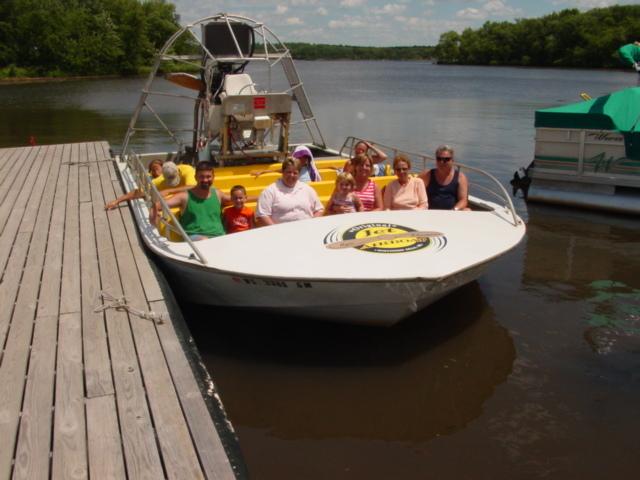 Boat in Wisconsin