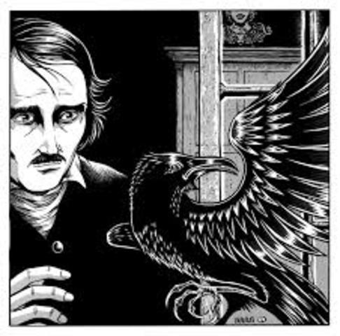 "Poe Publishes ""The Raven"""
