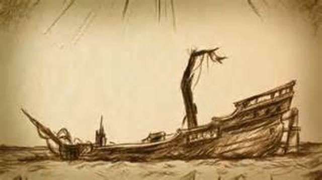"Poe writes his first novel ""The Narrative of Arthur Gordon Pym"""