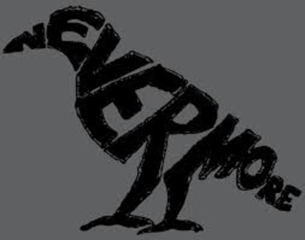 """Poe publishes the poem, """"The Raven"""""""