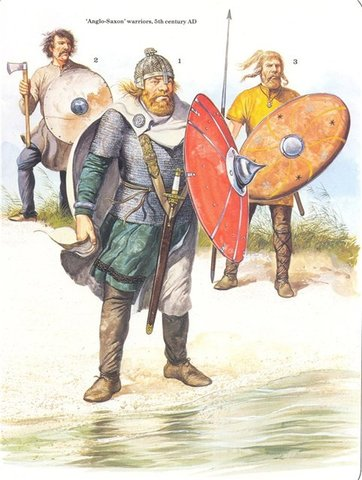 Завоевание Британских островов германскими племенами